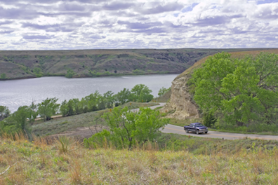 South Kansas Lake Property in Red Hills & Gypsum Area